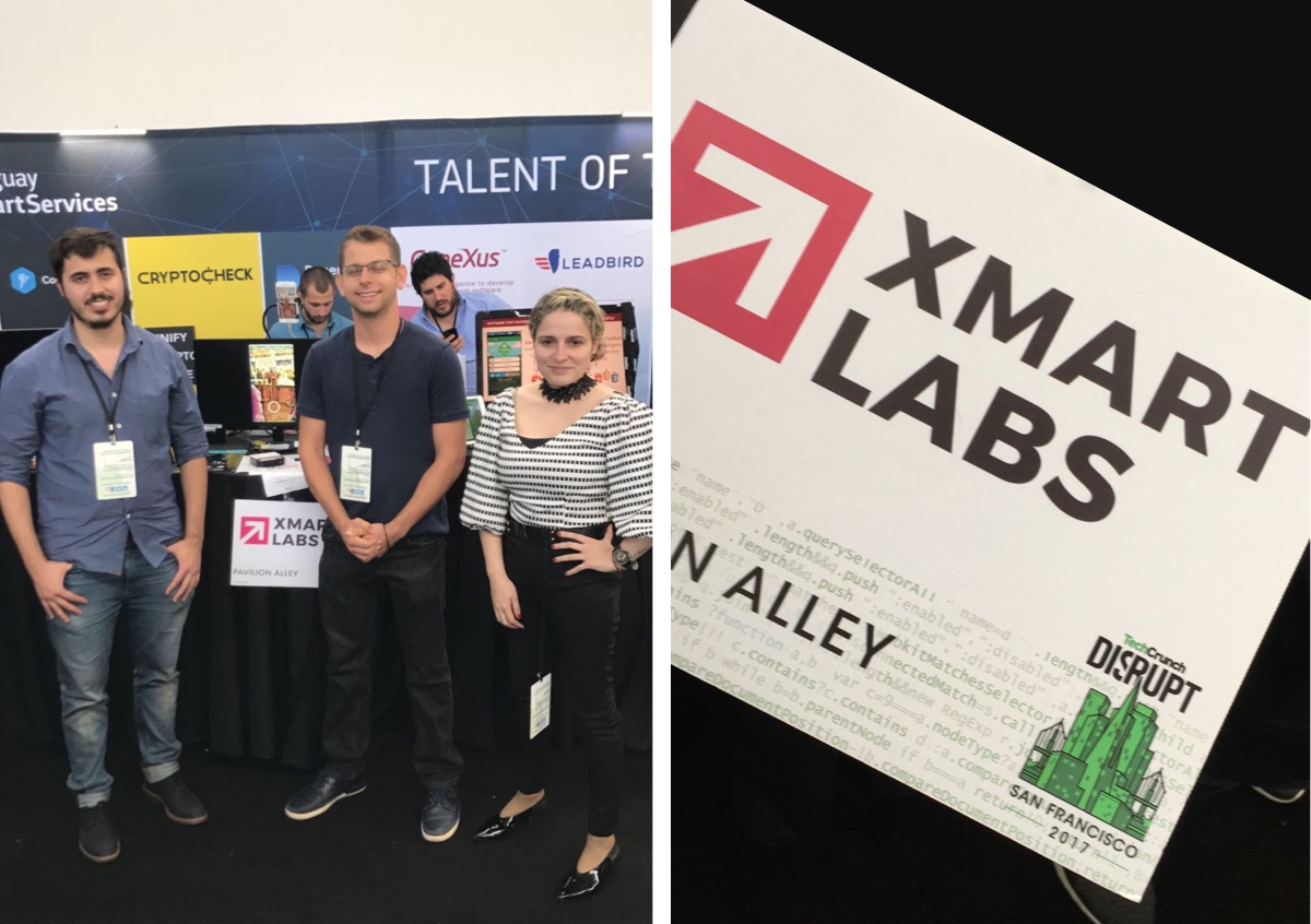 The xmartlabs team at the event